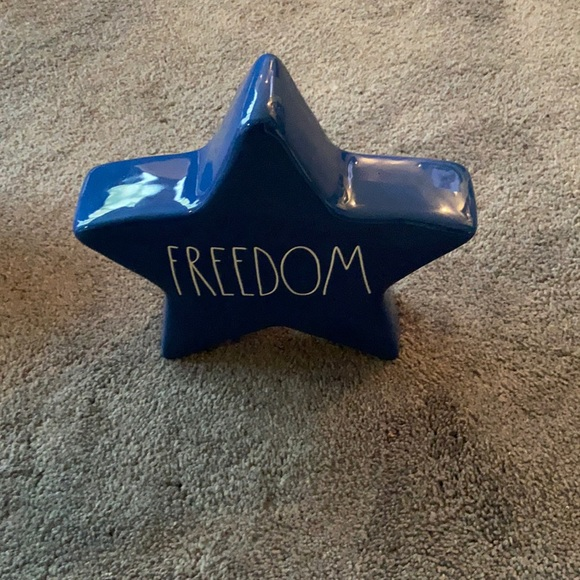 Rae Dunn Blue Star Freedom